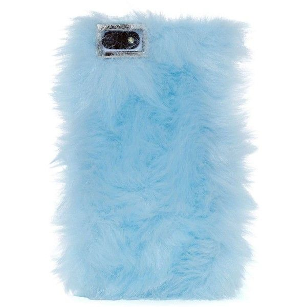 Skinnydip London Furry Up iPhone 5 Case - Blue (435 UAH) ❤ liked on Polyvore featuring accessories, tech accessories, phone cases, fillers, phone, blue, blue iphone case, iphone cases, apple iphone cases and iphone cover case