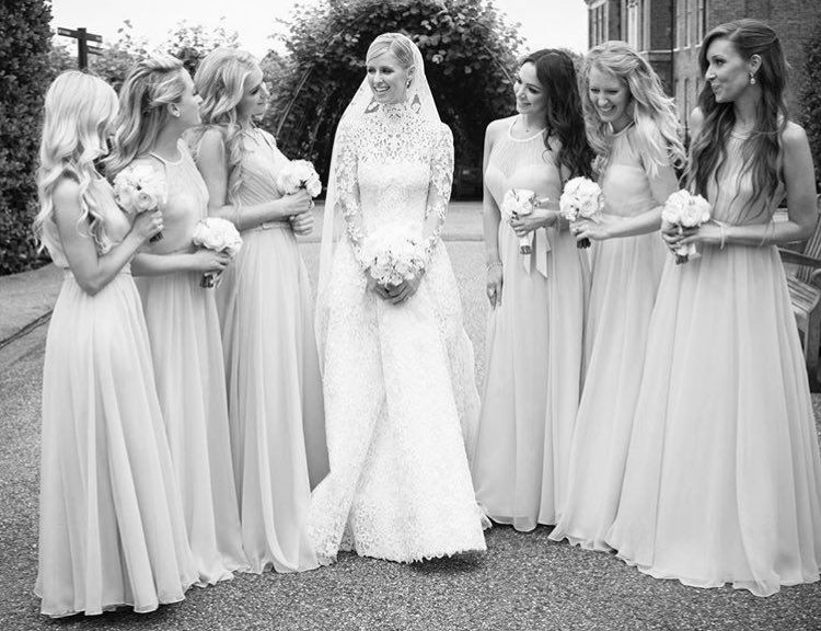 Paris Hilton Parishilton Nicky Hilton Wedding Ball Gown Wedding Dress Wedding