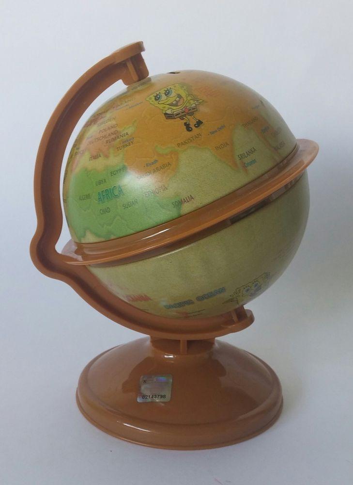 Spongebob world map globe saving coin bank money still piggy bank spongebob world map globe saving coin bank money still piggy bank ebay gumiabroncs Gallery