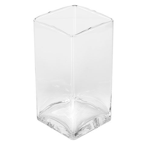 Bulk Brand Name Clear Glass Square Column Vases 6 In At Dollartree