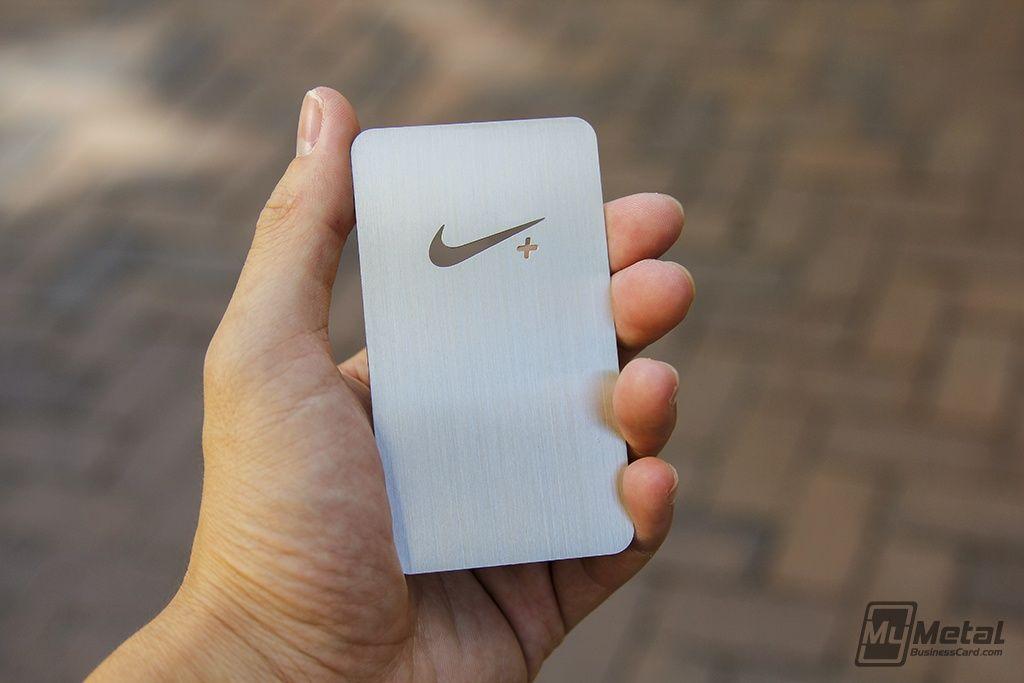 Stainless Steel Cards for #Nike #completelycustomdesign ...