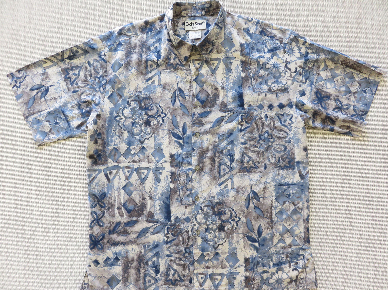 Vintage Aloha Shirt Cotton Cooke Street XL