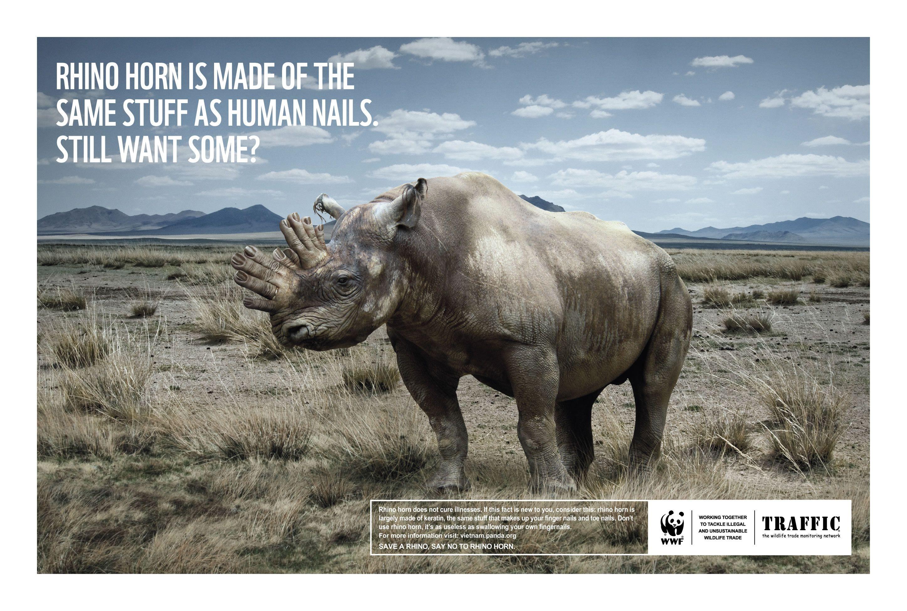 advert wwf Advertisment Advert Animal shocking 海外