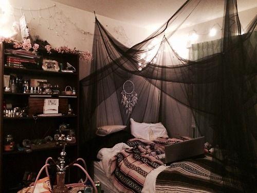 Pin By Bxddie Maddie On Home Decor Grunge Bedroom Halloween Bedroom Aesthetic Bedroom