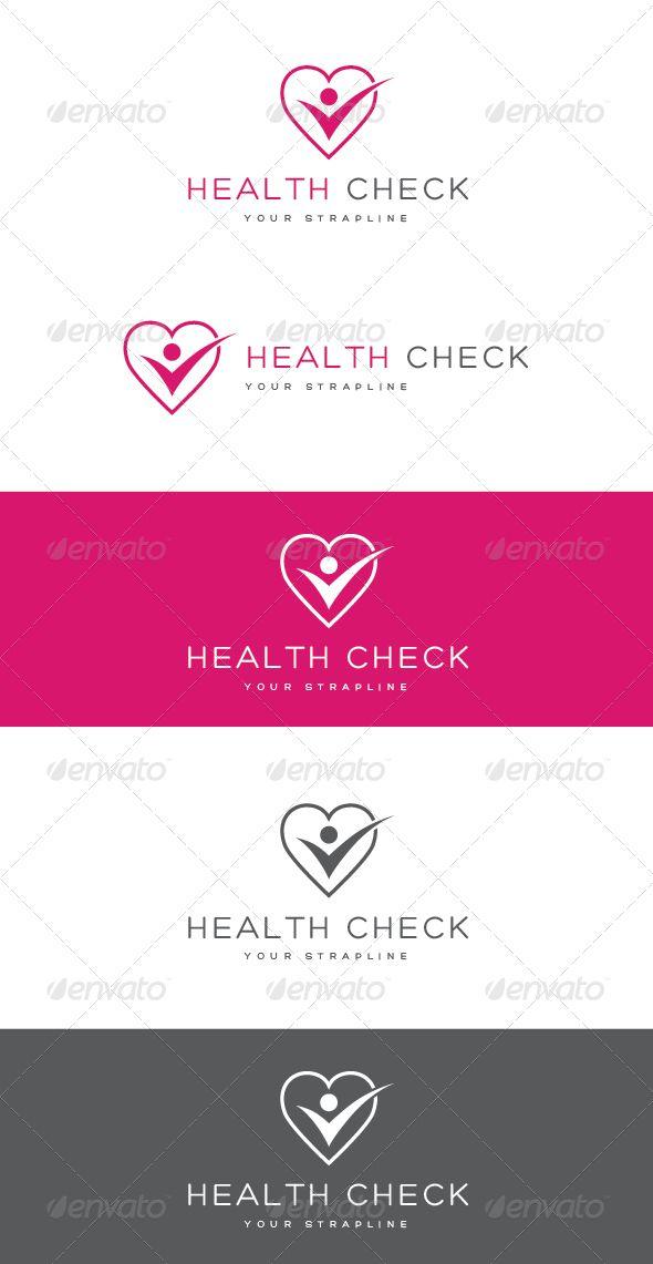 Health Check Logo Logos Logo Templates And Template