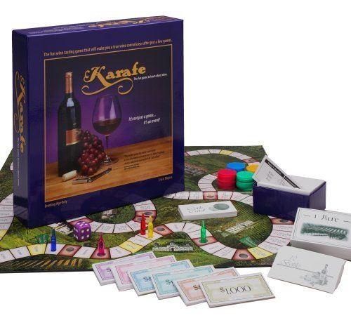 Karafe Wine Tasting Game: The Fun Game to Learn About Wine by Karafe, http://www.amazon.com/dp/B000XR2QMA/ref=cm_sw_r_pi_dp_NBAosb12YBTFP