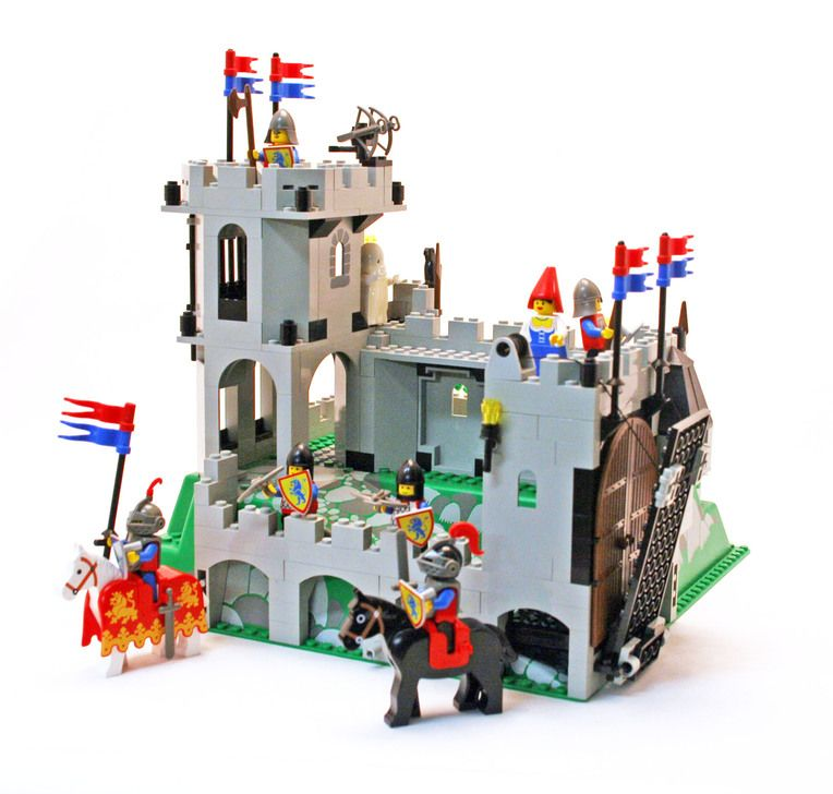LEGO VINTAGE MINIFIG Crusader Lion 6081-1 King/'s Mountain Fortress