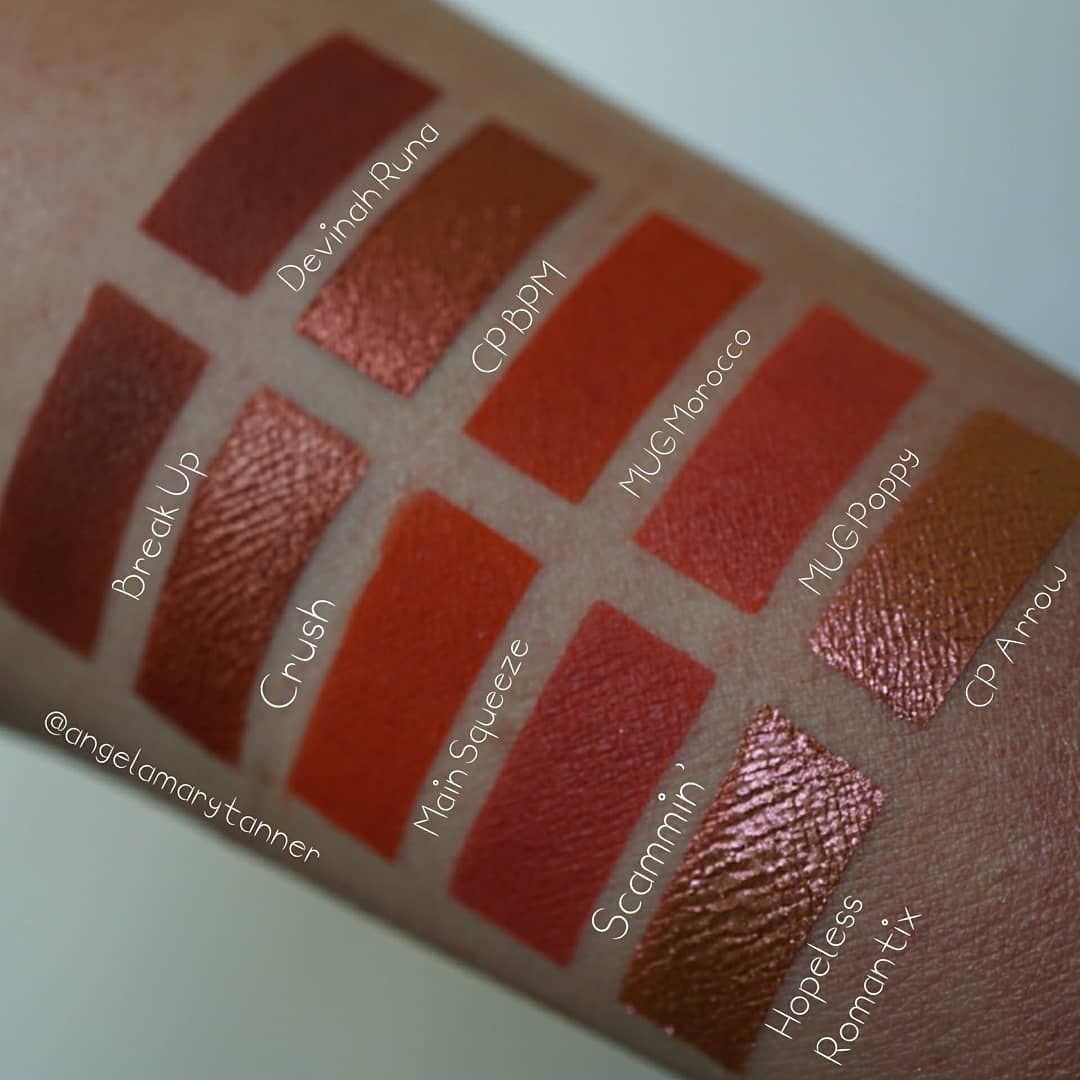 Pressed Pigment by melt #5