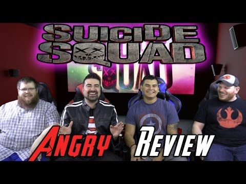 Suicide Squad Angry Movie Review