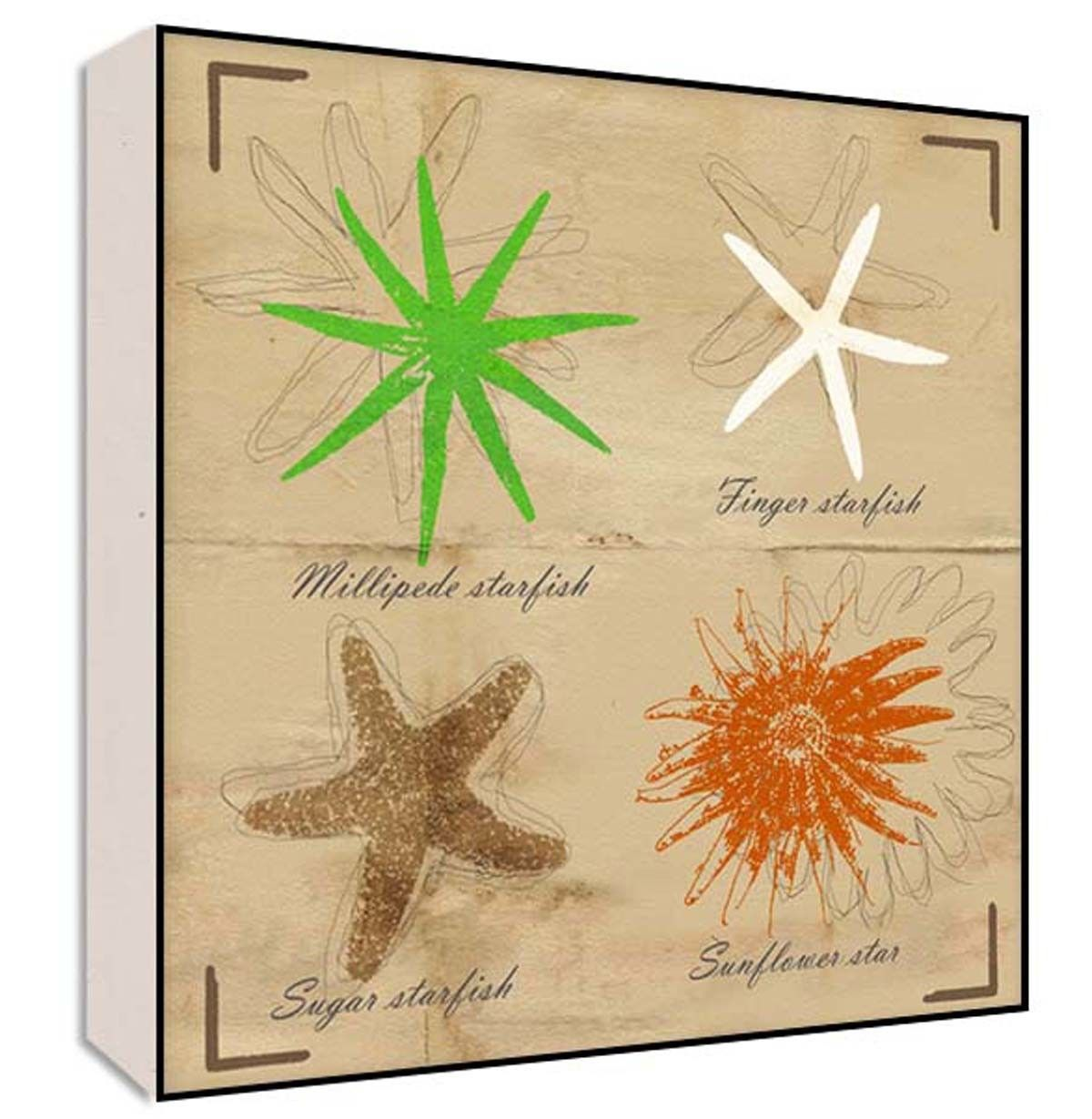 Sea stars ii wall art products pinterest leaf art and products