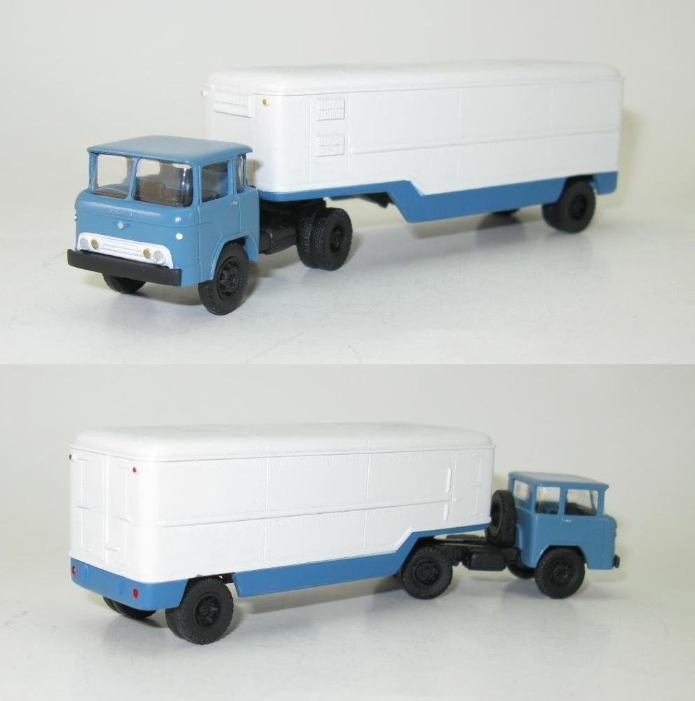 Details zu KaZ-608 mit Kofferauflieger OdAZ-828 Kühlschrank ...
