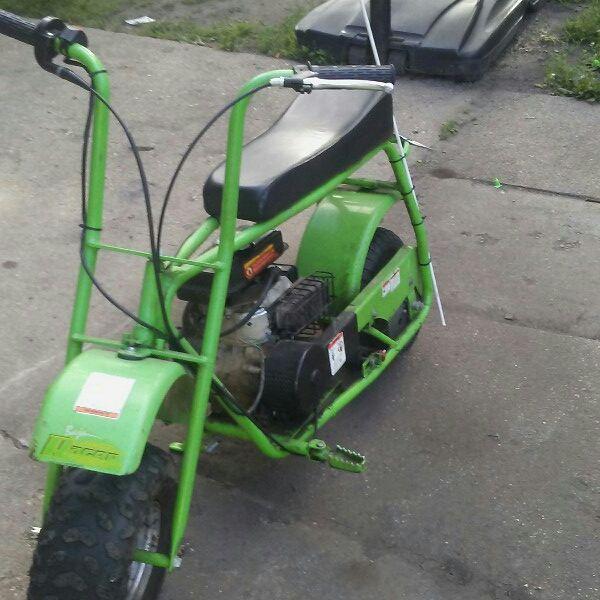 For Sale Baja Racer Green Mini Bike For 200 Mini Bike Bike Mini