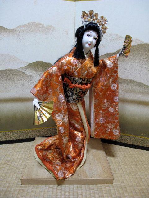 Japanese Vintage DollISHO-NINGYO Samurai's by vintagezipangu