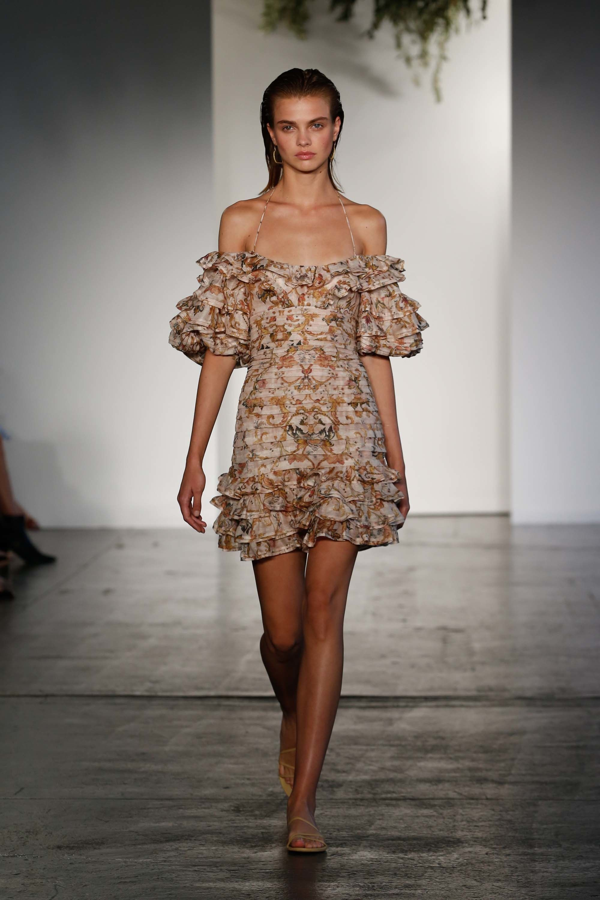 Zimmermann resort fashion show belles femmes pinterest