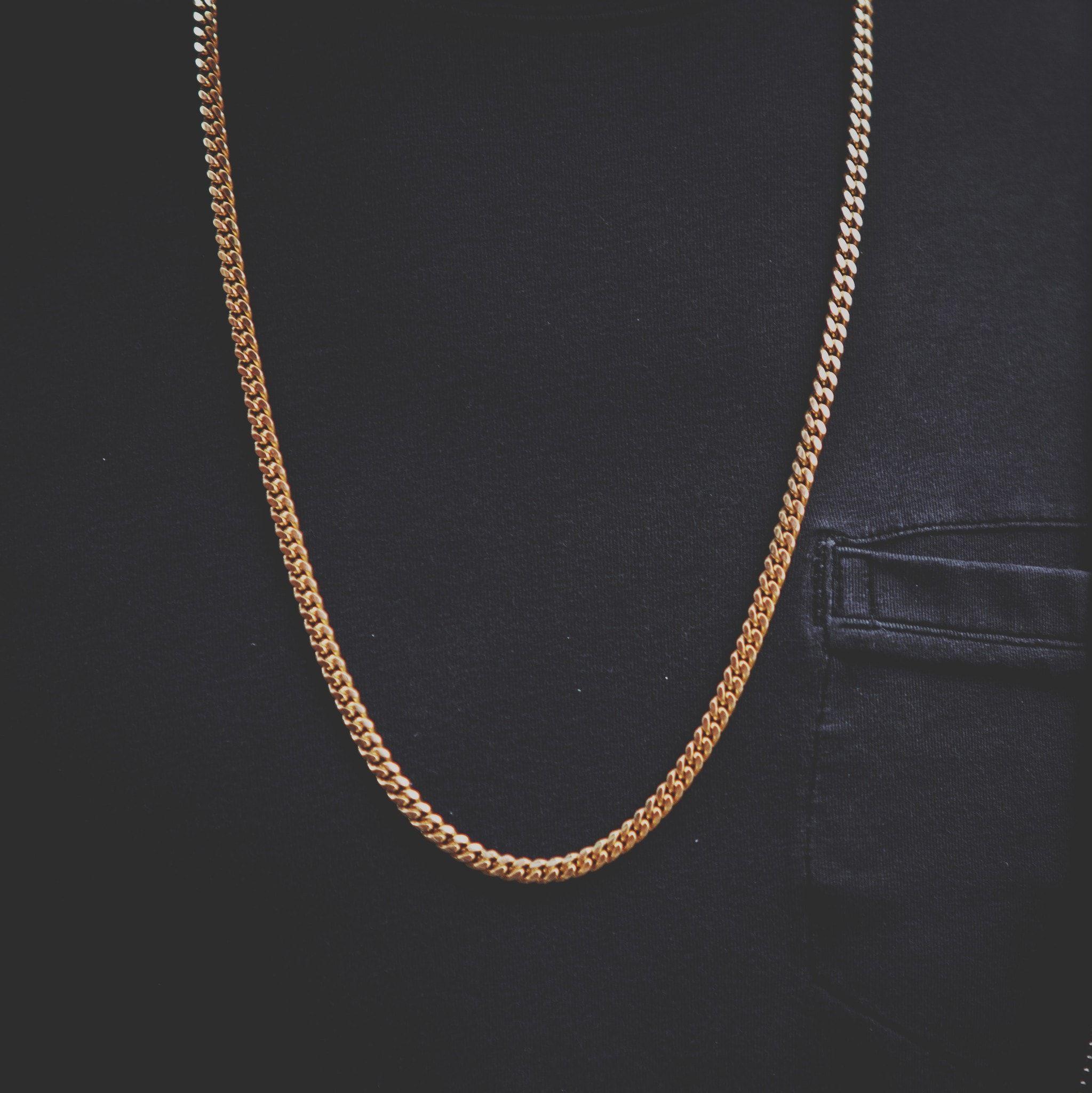 6a045d67d7146 5mm Miami Cuban Link Chain in 2019 | רעיונות לשרשרת | Chain, Gold ...