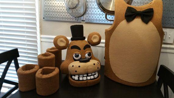 Five Nights at Freddy/'s Nightmare Bonnie Costume Child Size Medium 8-10