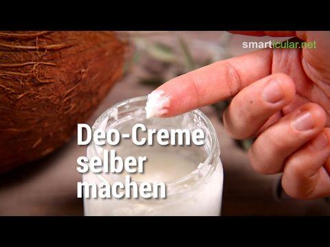 kokos l deocreme aus drei zutaten schnell wirksam und gesund k rper pflege pinterest deo. Black Bedroom Furniture Sets. Home Design Ideas