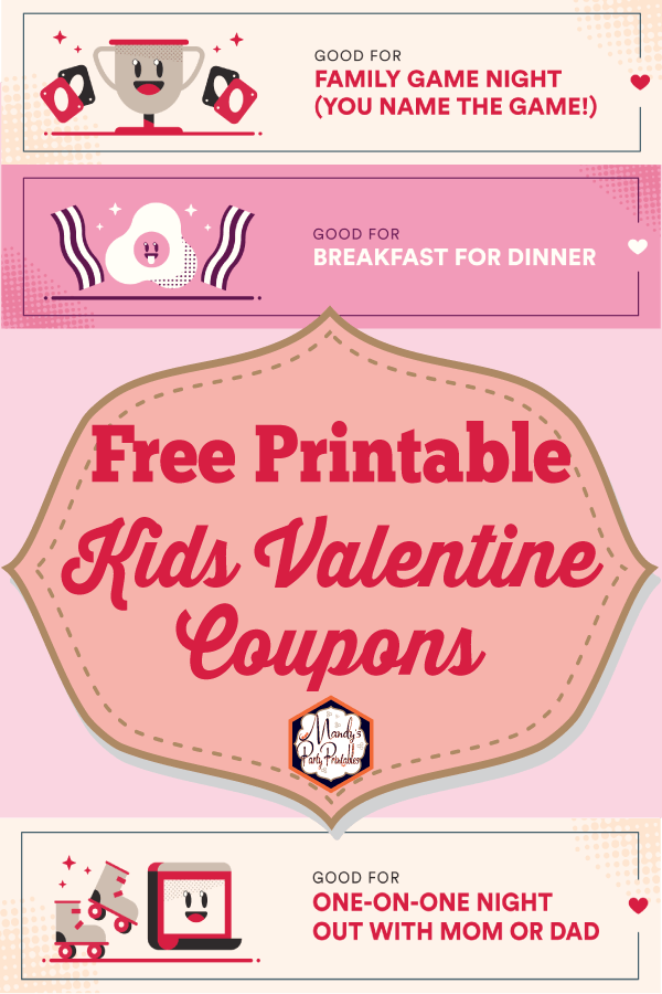 Printable Free Love Coupons for Valentine's Day is part of Valentines printables free, Simple valentines gifts, Love coupons, Valentines for kids, Valentines printables, Cheap valentines gifts - Grab these adorable partner and family Printable Free Love Coupons for Valentine's Day for a cheap Valentine gift from Mandy's Party Printables