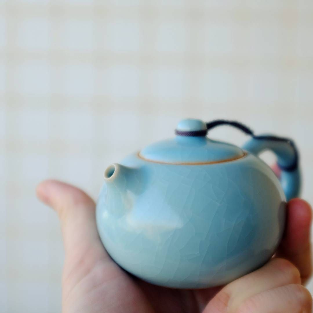 Xishi teapots fit right in the palm of your hand #teawarehouse  #Xishi #AzureRuyao #ruyao #teapot #teapots #teapotcollector #teapotset #gongfucha #gongfutea #teapotcollection #teastagram #tea #teapotart #teapotaddict #kitchen #teatime #teaparty #teaware #teawareaddict #teawares #teapotlove #teapotlover #teapottime #notareferencetoanythingelse #justtalkingteapots
