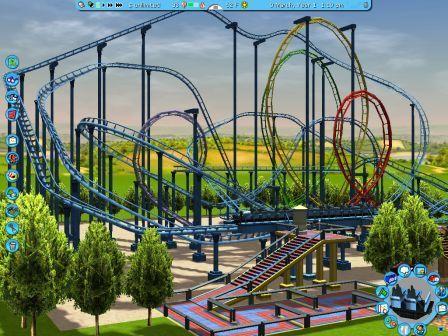 Zonga #SFDK #RCT3 | Roller Coaster Tycoon 1/2/3 | Roller coaster