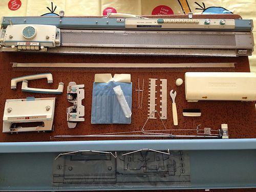 da86fd8817ec Japanese Vintage BROTHER KNITTING MACHINE KH-585