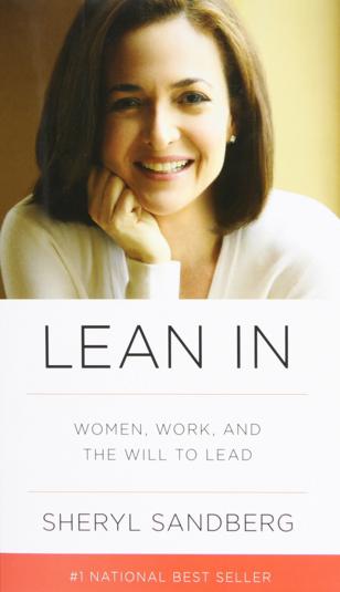 #LeanIn by @SherylSandberg