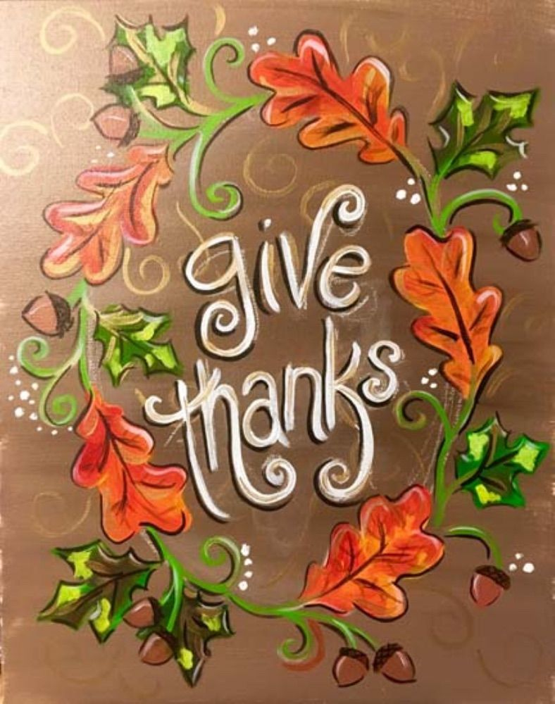 Pin By Becky Rowley On Being Thankful Fall Window Painting Fall Canvas Painting Holiday Painting