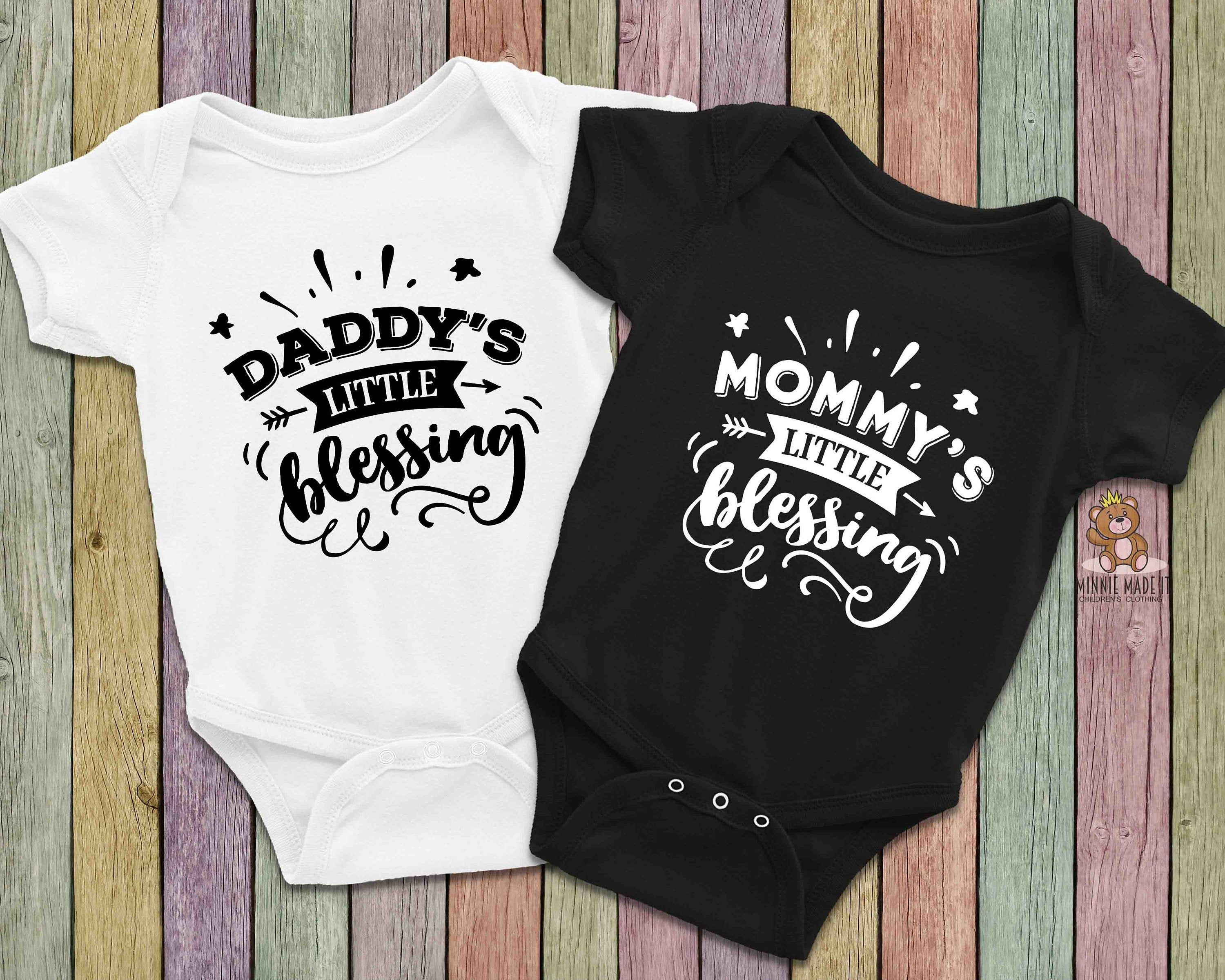 Coming Home Boy Girl Infant Matching Family Tee Shirts Newborn Fall Shower Gift For New Mom Cute Baby Shark Onesie Mommy And Me Outfits