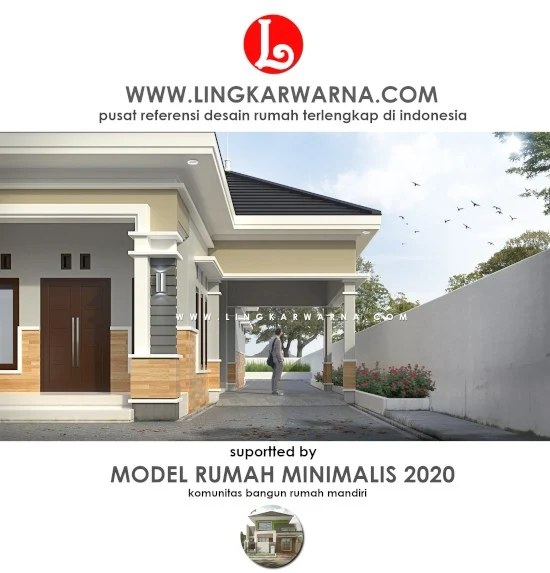 Desain Rumah Minimalis Tampak Mewah Dengan Dana 500 Jutaan Rumah Minimalis Rumah Home Fashion