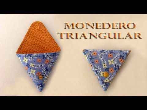 Monedero cucurucho – Video tutorial gratis – Blog Ana Leal Patchwork