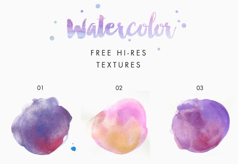 85 Watercolor Freebies For Graphic Designers Watercolor Design