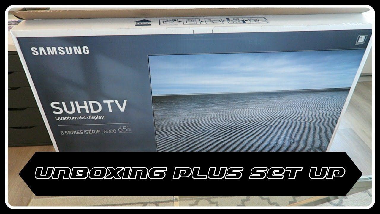 """2016 SAMSUNG SUHD 65"""" 4K TV 8000 SERIES UN65KS8000F"""
