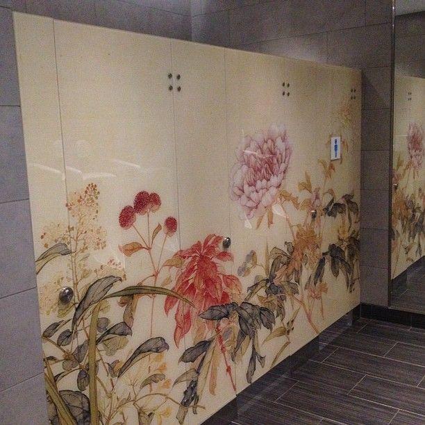 bathroom stall graphic
