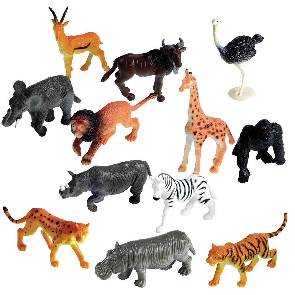 Toys For Animals : Amazon learning resources jungle animals set of