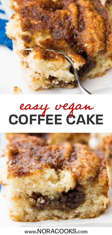 Photo of Vegan Coffee Cake – Nora Cooks