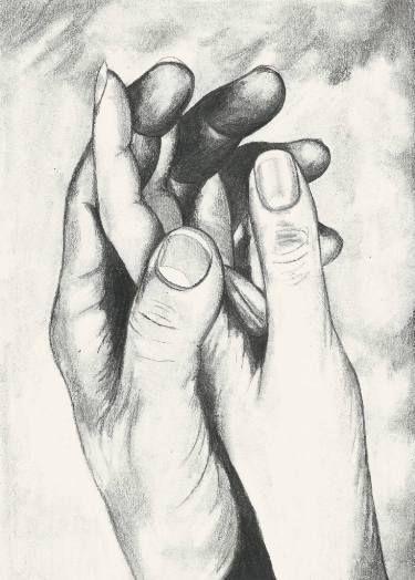 "Saatchi Art Artist Katarzyna Szymonik; Drawing, ""Toghether"" #art"