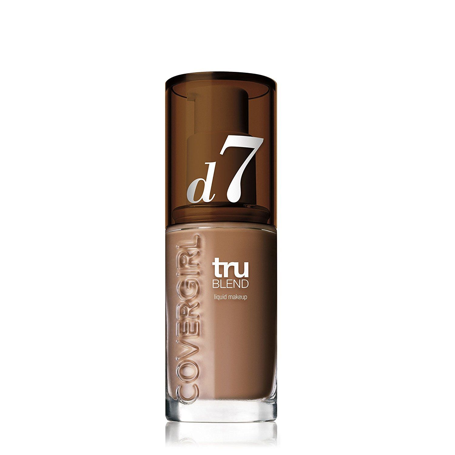 COVERGIRL truBlend Liquid Foundation Makeup Soft Sable D7, 1 oz -- This is an Amazon Affiliate link. Visit the image link more details.