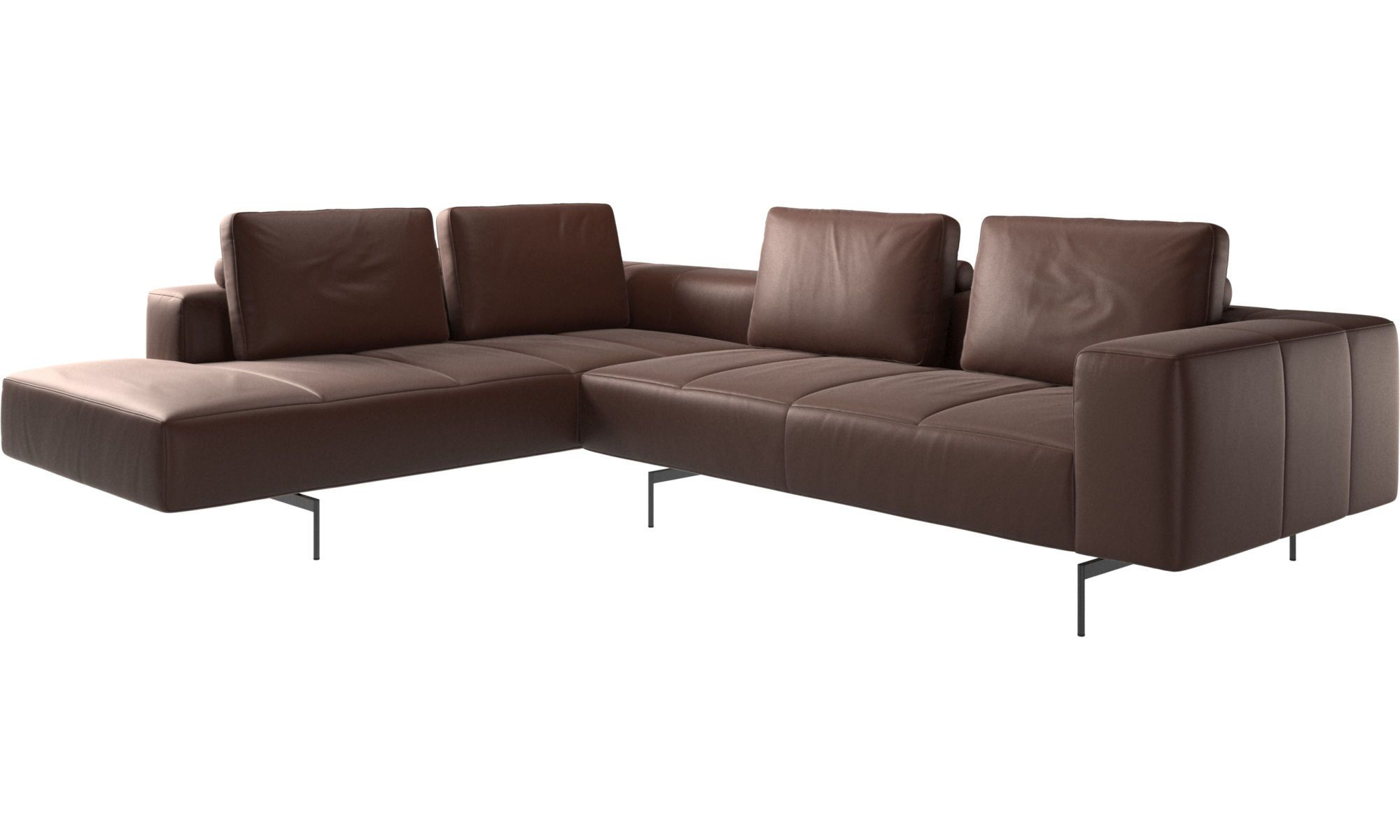 Modular Sofas Amsterdam Corner Sofa With Lounging Unit In 2020 Corner Sofa Leather Corner Sofa Sofa