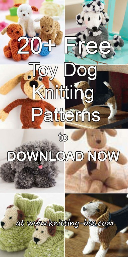 20 Free Toy Dog Knitting Patterns To Download Now Knitting All