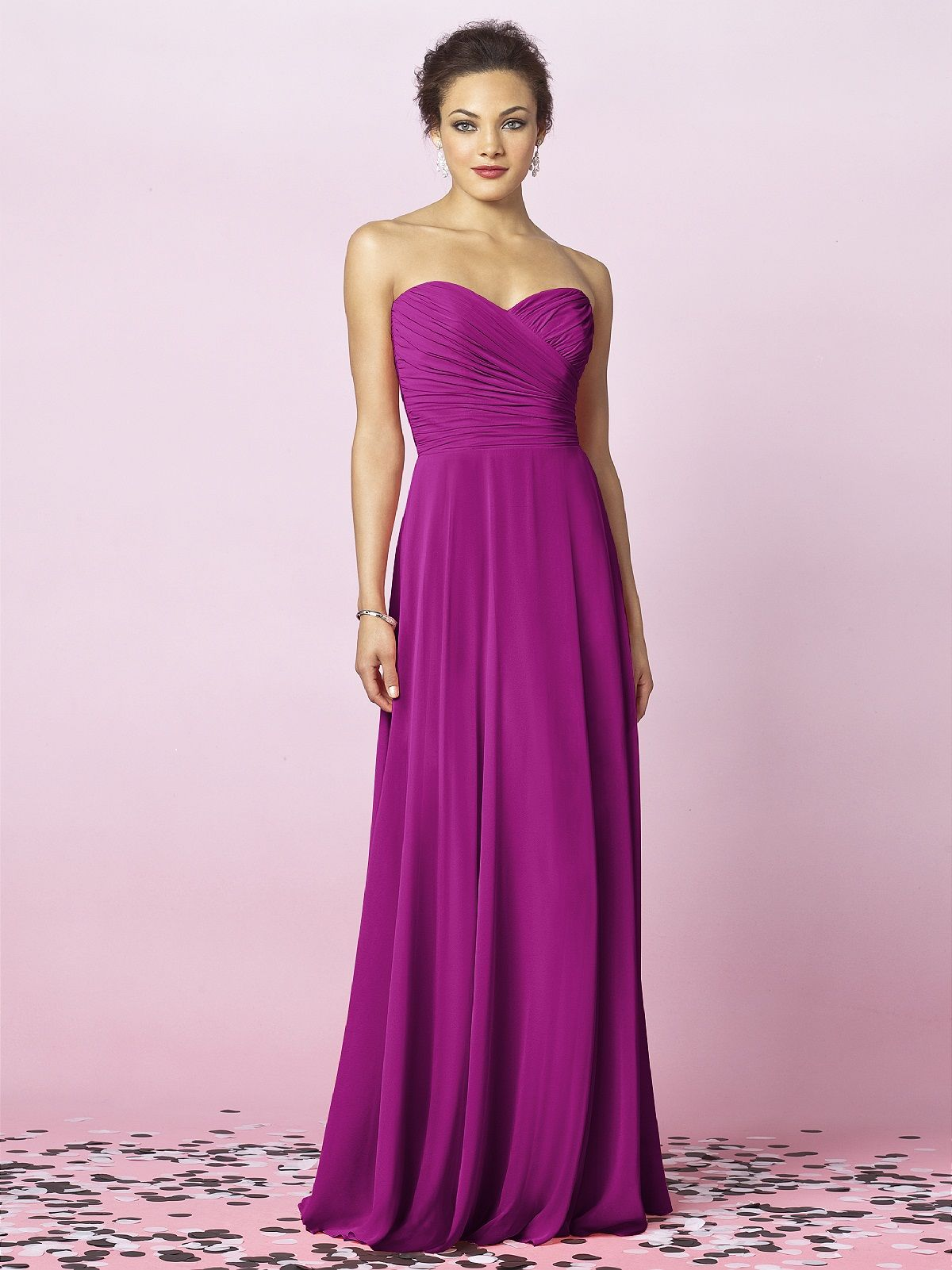 bridesmaids dresses persian plum...I love the dress, but not for the ...