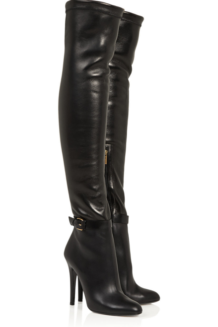 5740fe50f37d5 TAMBA boots from Jimmy Choo are being added to the wishlists of every  female BRAT we know. We have to admit, this leather boot that is also a bit  of legging ...