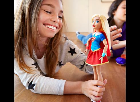 DC SUPER HERO GIRLS actiondukke Supergirl