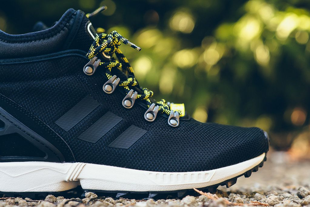 Adidas Zx Flux Winter Boot Core Black Adidas Zx Flux Adidas Black Boots