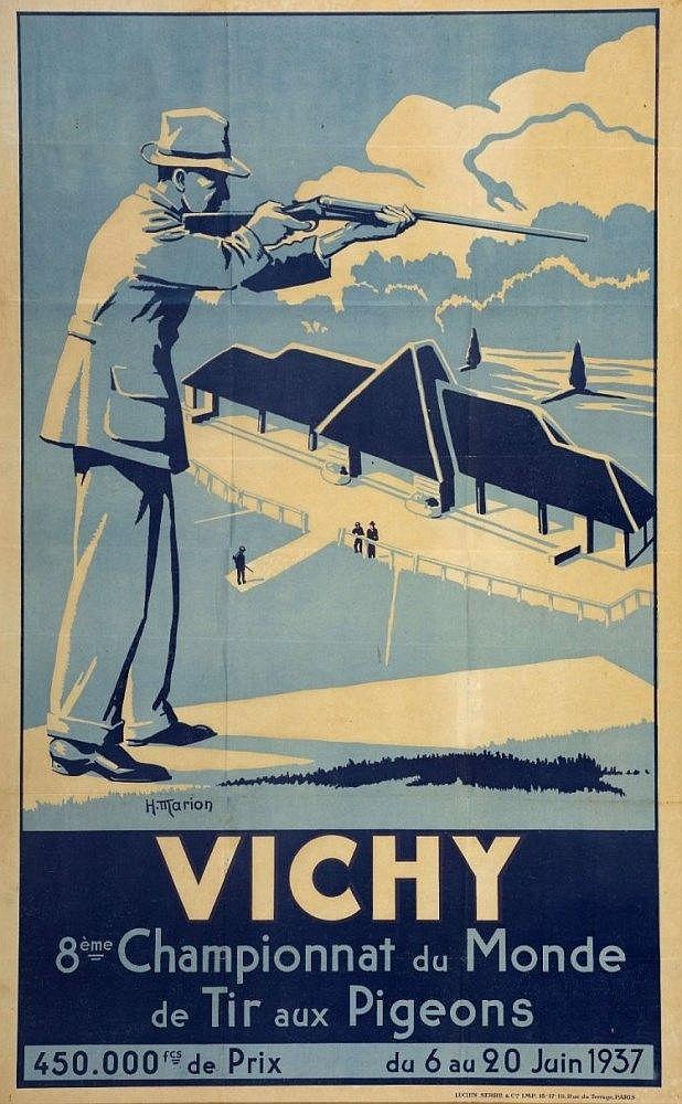 Vichy 8eme championnat du monde de tir aux pigeons for Championnat du monde de boules carrees