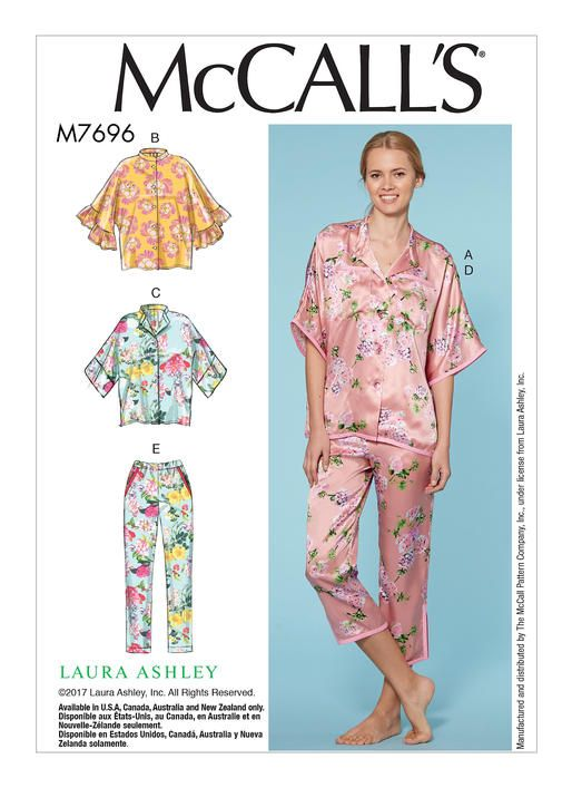 M7696   McCall\'s Patterns   sewing   Pinterest   Sewing patterns ...