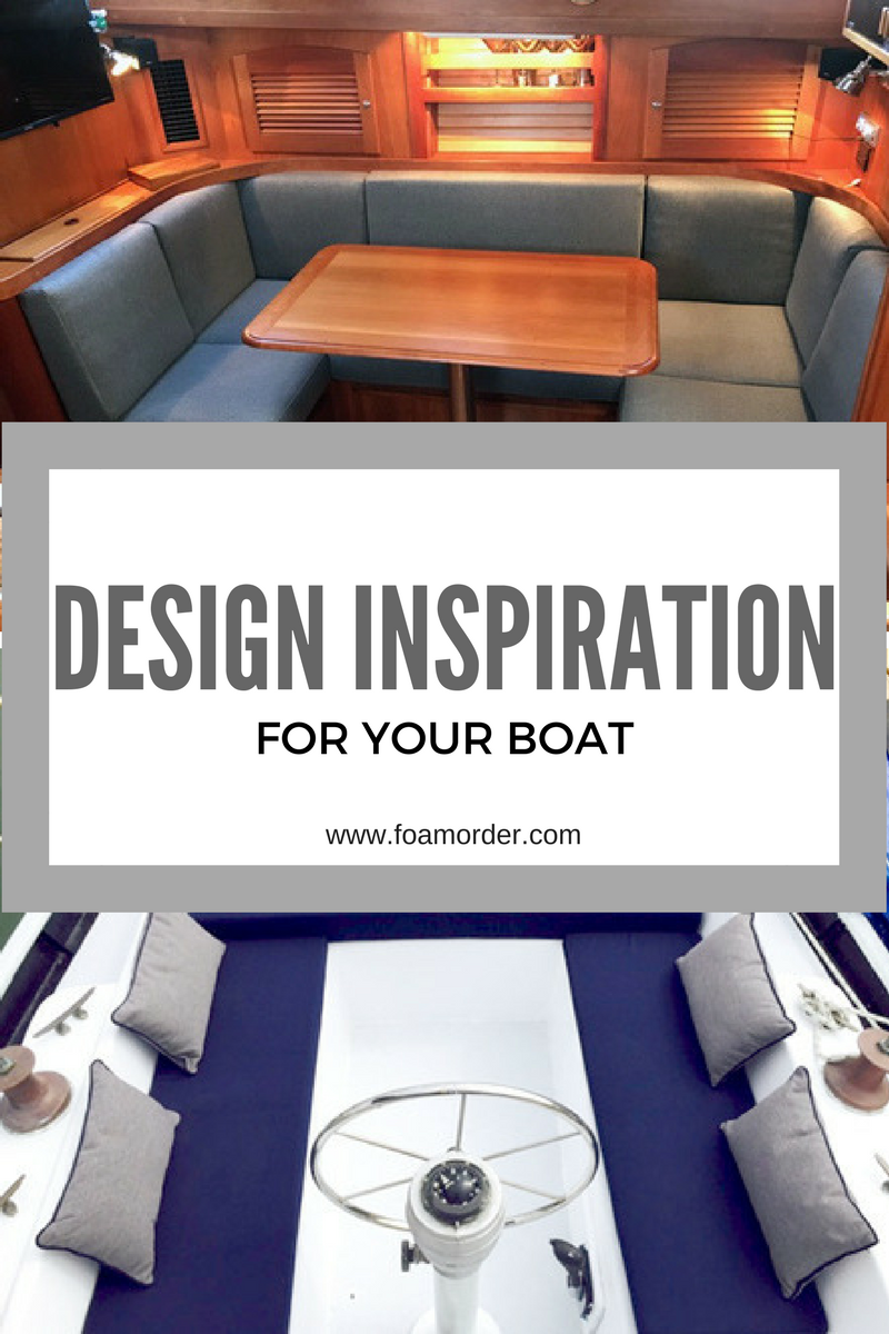 interior design ideas and inspiration for your boat boat cushions rh pinterest com