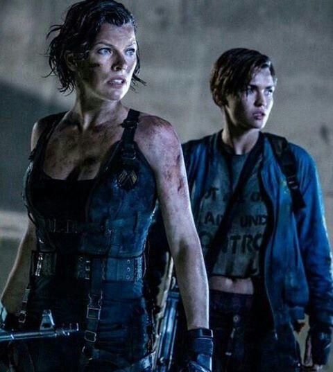 Abigail Resident Evil Ruby Rose Milla Jovovich Resident Evil