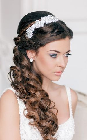 Wondrous Bridesmaid Hairstyles Side Ponytails And Bridesmaid Hair On Pinterest Hairstyles For Men Maxibearus