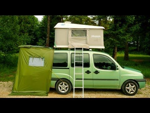 Citroen Berlingo Peugeot Partner Boot Camper Design