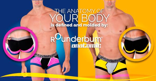 07cd5ab0 Los mejores colores siempre están en Rounderbum Anatomic. #Rounderguys  #Underwear #Undies #